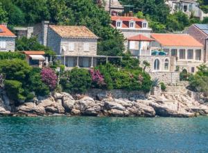 Ferienhaus Kroatien am Meer mit Pool